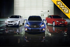 Lexus IS Microsite