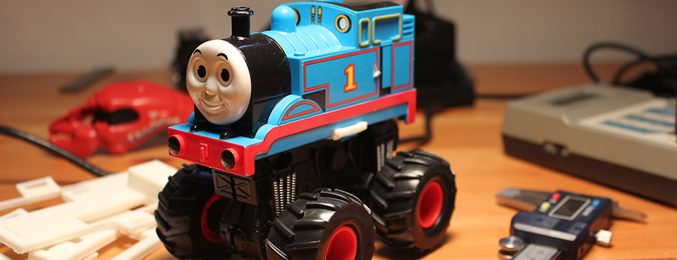 Thomas The Tank Engine Monster Truck Outlaw