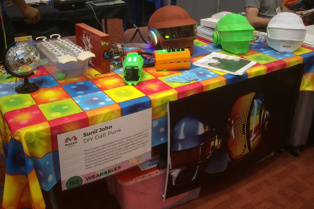 Maker Festival 2015 – DIY Daft Punk